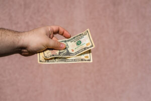 Giving Cash to Movers After Performing Successful Move
